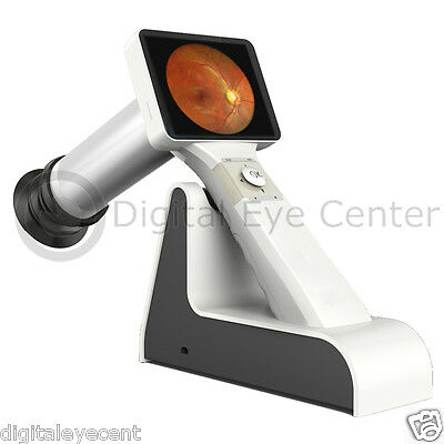 New Portable Handheld Digital Fundus Camera. 40 deg LENS INCLUDED, 2 mpx res.