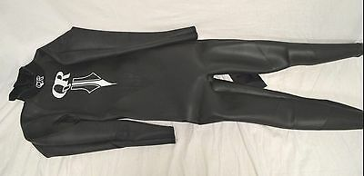 Quintana Roo Men's Ultrafull Wetsuit in Black with Silver Emblem - Size ML