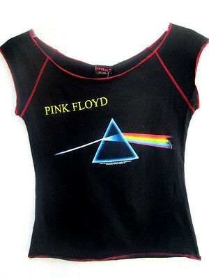 PINK FLOYD..DARK SIDE OF THE MOON..RETRO 80'S TOP..by JOHNNY ROCK..NEW..sz M