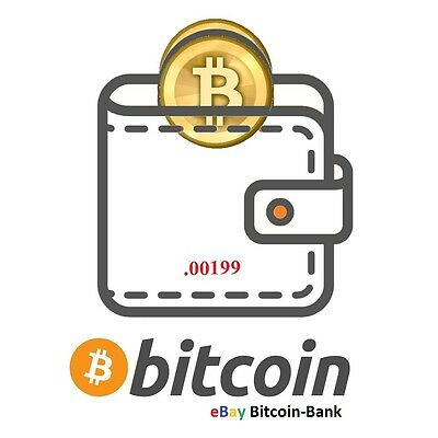.00199 BITCOIN CryptCurrency Guaranteed Deliver Direct to Your Wallet!