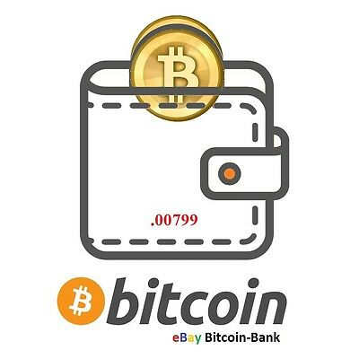 .00799 BITCOIN CryptoCurrency Guaranteed Deliver Direct to Your Wallet!