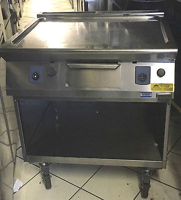 Stainless Steel Natural Gas Freestanding Commercial Griddle