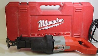 Milwaukee 6520-21: Heavy Duty Professional Reciprocating Saw