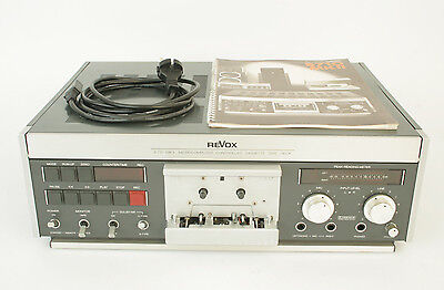 REVOX B710 MKII Tape deck / Recorder player / Cassette - B 710 - Mint condition