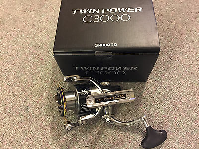 SHIMANO TWIN POWER C3000, Brand new