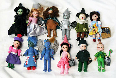Madame Alexander 2008 Wizard of Oz McDonald Happy Meal Dolls Complete set of 12