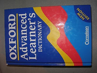 OXFORD Advanced Learner's Dictionary - Englisch Wörterbuch