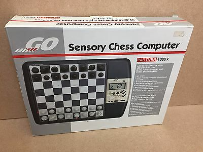 Tandy Radio Shack Intertan Go Sensory Chess Computer Partner 1680X 100% Complete