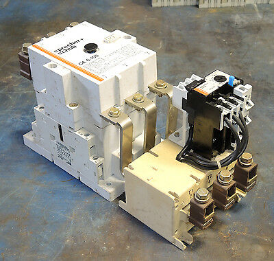 Sprecher + Schuh CA 6-105 + CT 6 with O/L Relay CT6-90 - 75HP @ 460 HP