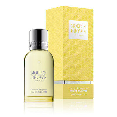 Molton Brown Orange & Bergamot 50ml Eau de Toilette Spray NEW Christmas Gift