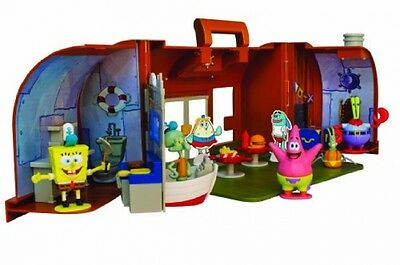 Simba Spongebob Krusty Krab Action Figure Playsets Kids Toy Play Accessories