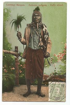 Card 1911 Lourenço Marques Maputo Mozambique Postcard Carte Postale  Maximum