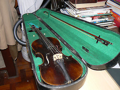 Antique Haynes Violin with Case and Bow