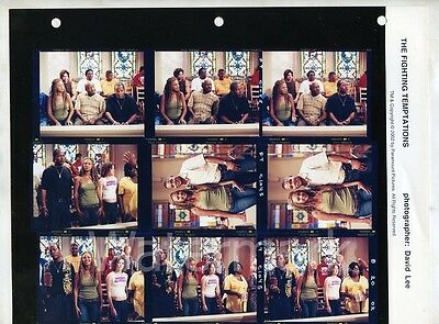 The Fighting Tempations Contact Sheet photo Behind The Scenes #4 Cuba Beyonce
