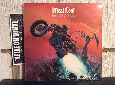 Meat Loaf Bat Out Of Hell LP Album EPC82419 Rock 70's '2 Out Of 3 Ain't Bad'