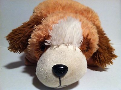 "My Favorite Snuggle Pillow  ""brown Hound""  Large Plush Pillow"
