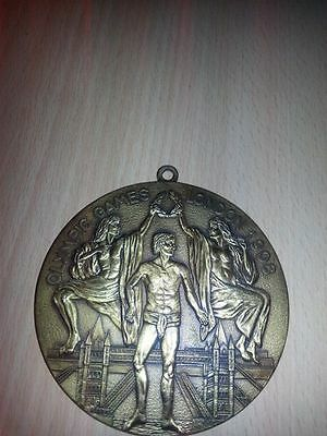 olympic games commerative medal 1908