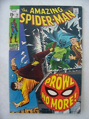 Amazing Spider-Man #79 F/vf     Prowler!