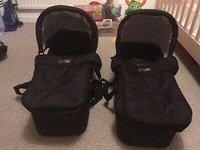 2 mountain buggy duet carrycots