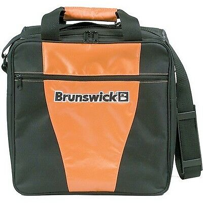 Brunswick Gear Single Tote Bowling Bag - Orange