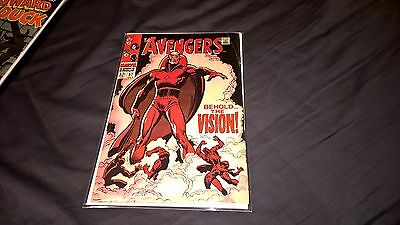 Avengers 57 Marvel 1968 1st Vision Ultron Black Panther Hawkeye Infinity War