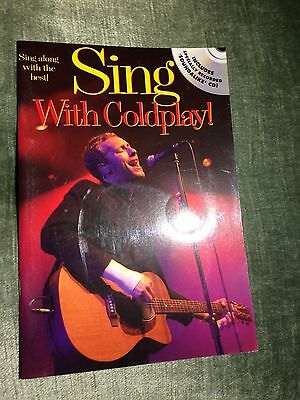 Sing with Coldplay Partition score CD