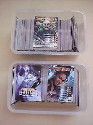 Doctor Who Battles in Time Cards 20 Common Card Selection Annihilator 276-375