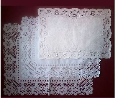 Lace Tray Papers, 396x314mm, 4 packs of 250