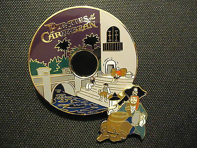 Disney Wdi Cd Series Pirates Of The Caribbean Pin Le 300