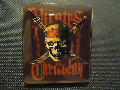 Disney Ds Disney Store Pirates Of The Caribbean At World's End Flashing Pin