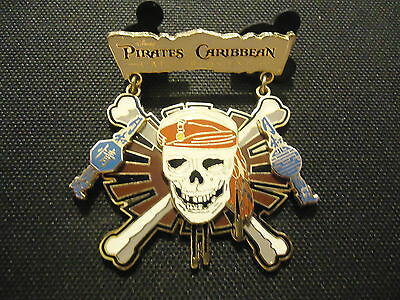 Disney Pirates Of The Caribbean At World's End Logo Pin