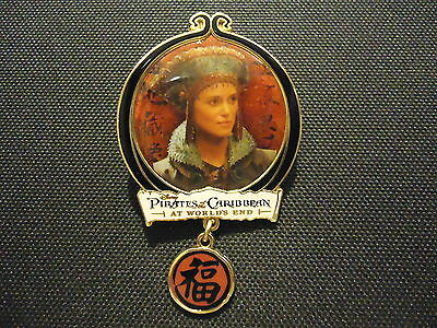 Disney Pirates Of The Caribbean At World's End Elizabeth Swann Pin