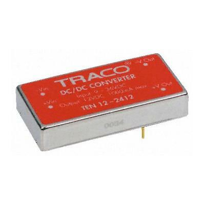 1 x TRACOPOWER Isolated DC-DC Converter TEN 12-4821, Vin 18-75V dc, Vout ±5V dc