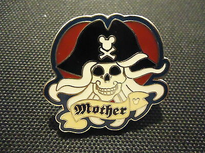 Disney Dlr 2007 Hidden Mickey Lanyard Pirate Collection Mother Pin