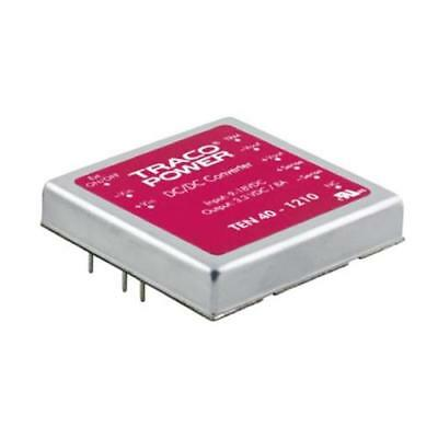 1 x TRACOPOWER Isolated DC-DC Converter TEN 40-2410, Vin 18-36V dc, Vout 3.3V dc