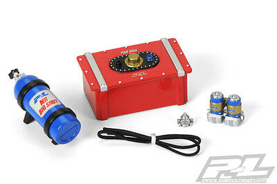 Pro-Line Scale Accessory Set 8 Fuel Cell, Nitro Bottle, PL6105-00,AXIAL SCX10