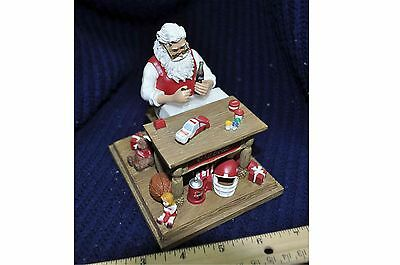 Officially Licensed Coca Cola -Bradford Exchange numbered- Christmas figurine
