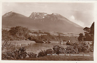 Ben Nevis From The Caledonian Canal, Nr FORT WILLIAM, Inverness-shire RP