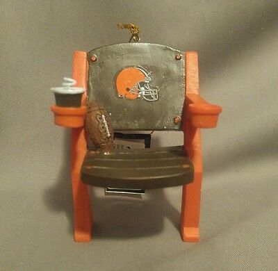 Cleveland Browns NFL Stadium Chair Christmas Ornament