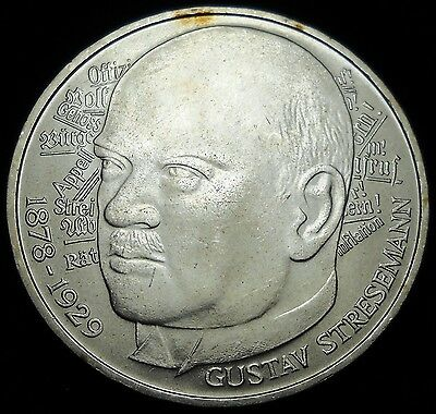 + West Germany 1978 5 Marks.  World - Foreign Silver Coin. Free Shipping!