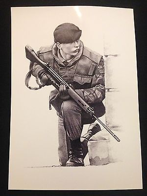 A4 Northern Ireland Ulster Operation Banner Print