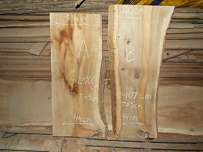 Solid Oak Boards dried in the air