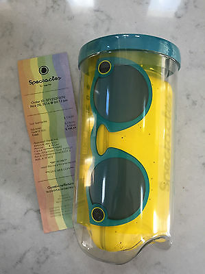 Snapchat Spectacles Teal Green Glasses Brand New Unopened Free Shipping