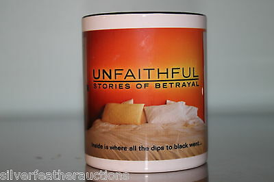 Unfaithful Promo Mug Cup - Stories of Betrayal - OWN Oprah Network Reality TV
