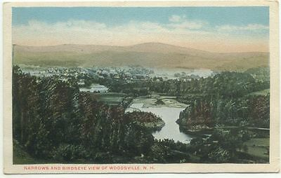 Woodsville NH Old Postcard - New Hampshire