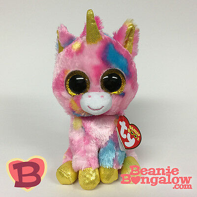01d47acf7be2 Ty Beanie Boo Fantasia the Unicorn 2015 Spring Release New In-Hand MWMT