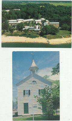 Madison CT Lot of 2 Postcards - Connecticut