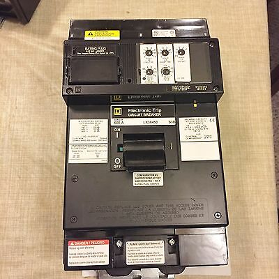 New Square D Lx36400 Circuit Breaker 400A 3 Pole  Best Price Free Shipping