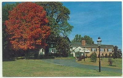 """Newtown Square PA """"The Newtown Squire"""" Vintage Postcard - Pennsylvania"""