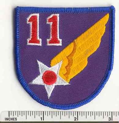 WW2 11th Air Force AAF Military US Army WWII  USAF fabric PATCH